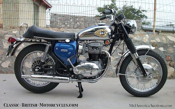 1970 Bsa A65 Lightning Bsa Motorcycle Classic Motorcycles Motorcycle