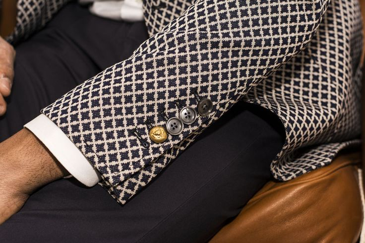 John Sheep detail jacket source: Fagni boutique #JohnSheep #SS14_collections #geometric #details #jacket #bottom