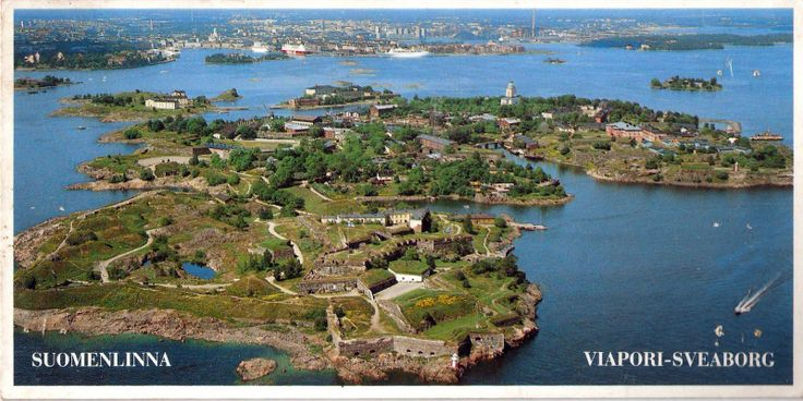 The Fortress of Suomenlinna, a UNESCO World Heritage Site. This picturesque collection of six islands sits directly off the coast of Helsinki. It's a beautiful place to visit.