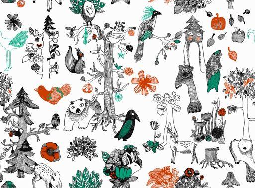 Aarrekid All Year Collection Enchanted Forest / Aarremetsä  Design by Piia Keto