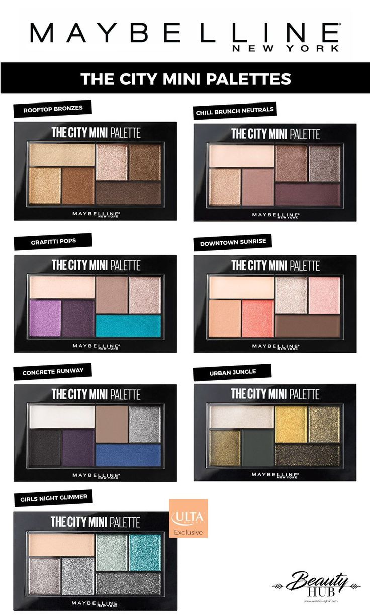 Maybelline The City Mini Palettes