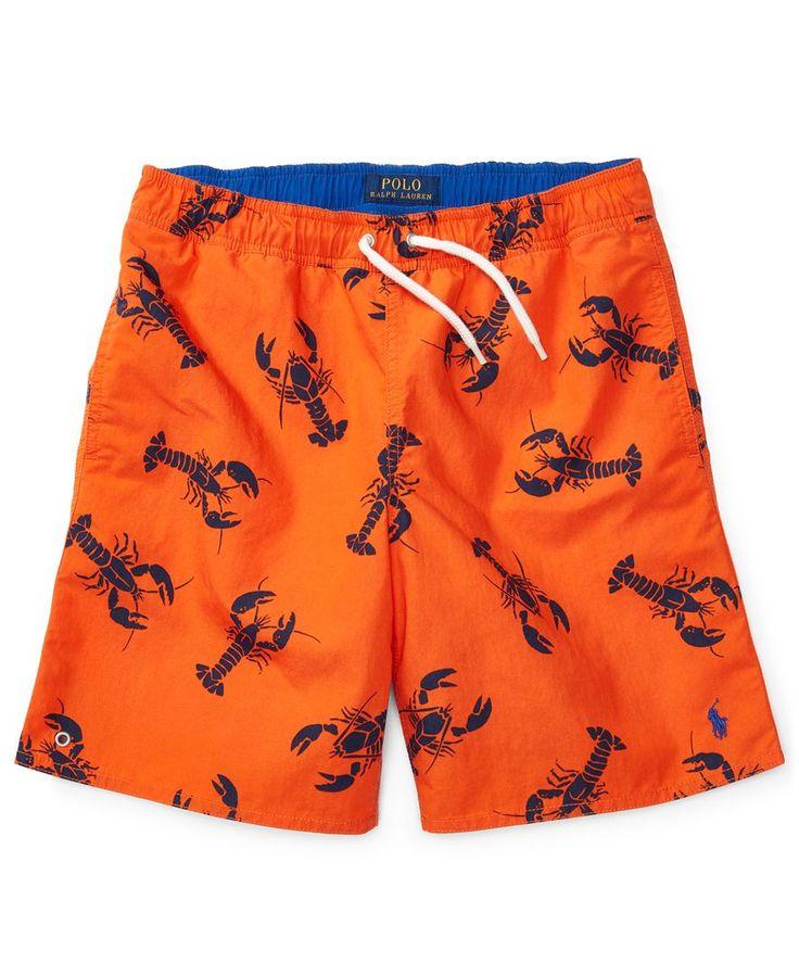 Ralph Lauren Printed Swim Trunks, Toddler Boys (2T-4T) & Little Boys (2-7)