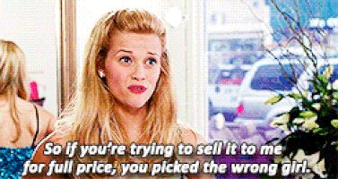legally blonde GIF