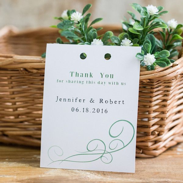 69 best Thank You Cards \ Tags images on Pinterest Card wedding - wedding thank you note