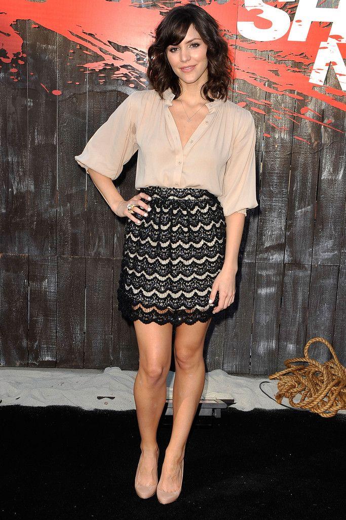 Katharine McPhee Mini Skirt - Mini Skirt Lookbook - StyleBistro