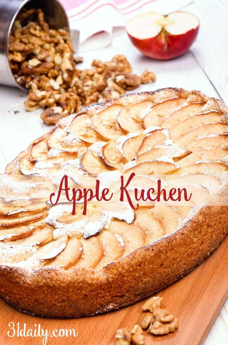Ideal German Apple Kuchen