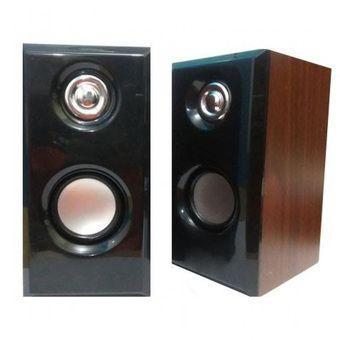 Belanja Wanky Speaker PC Mini USB 2.0 Wooden T001 - Coklat Indonesia Murah - Belanja Speaker Komponen Rak Buku di Lazada. FREE ONGKIR & Bisa COD.