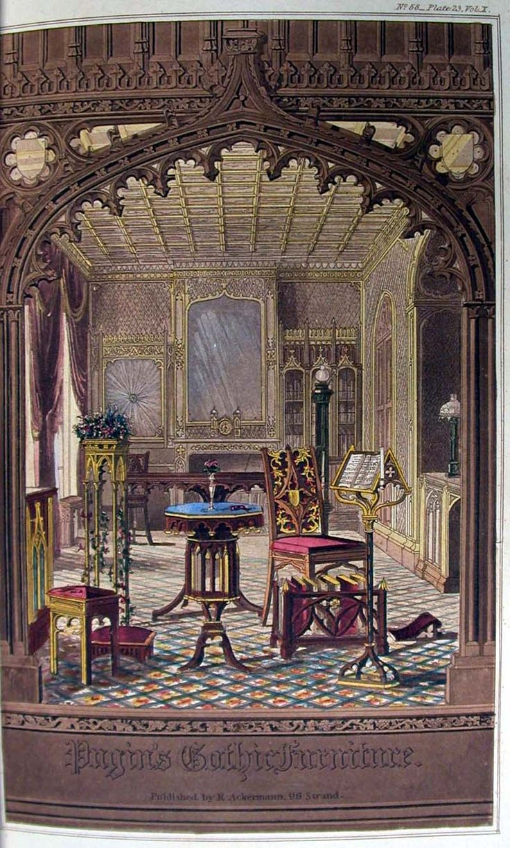 Old world gothic and victorian interior design victorian gothic - Gothic Revival Furniture Pic From Special