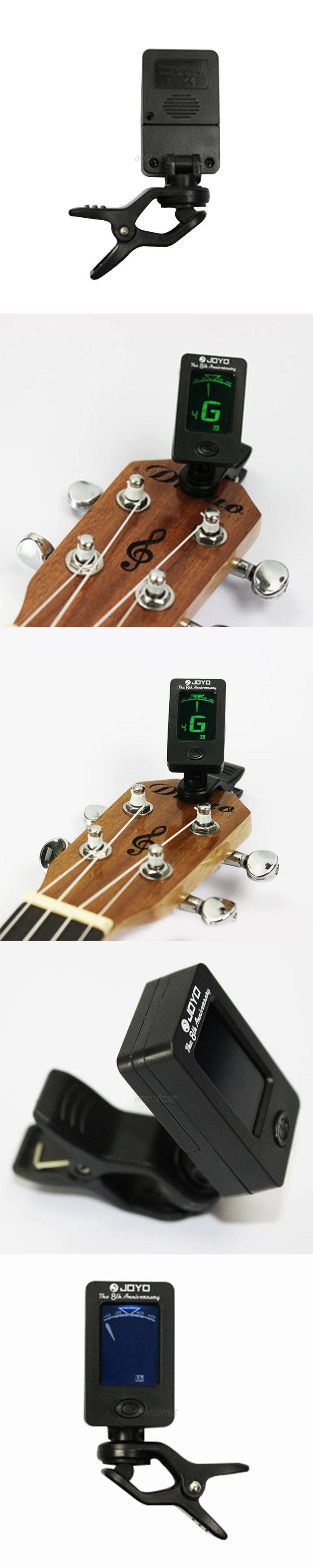 Chromatic Clip-On Digital Tuner For Acoustic Electric Guitar Bass Violin Ukulele #bassguitar