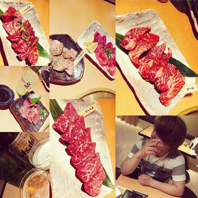 お肉最高でした。特にラムタン💓 #肉#焼肉#うし処正 #美味しすぎて#幸せだった#終始にやにや#笑#ありがとう#デート#彼氏#最高