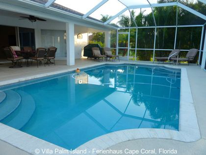 Ferienhaus Cape Coral Florida - Villa Palm Island