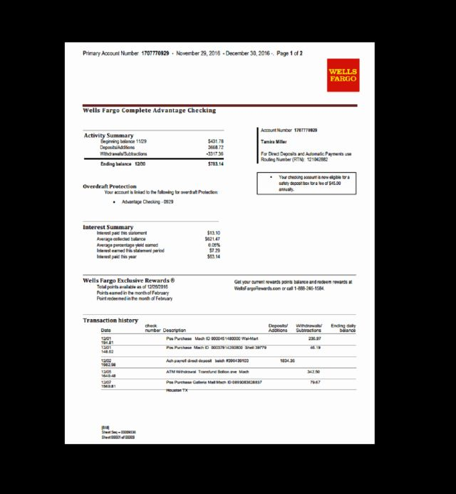 40 Fake Bank Statement Generator In 2020 With Images Statement