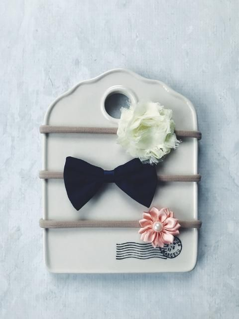 BALDIE HAIR ACCESSORIES 'CUTIE' - SET OF 3    #MamaFashionMe - Aussie Online Store with Beautiful Accessories for Girls + Some for Boys
