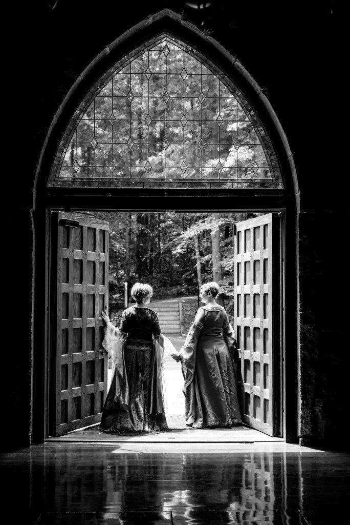 North Carolina Princess Bride–Themed Lesbian Engagement   Equally Wed - LGBTQ Weddings