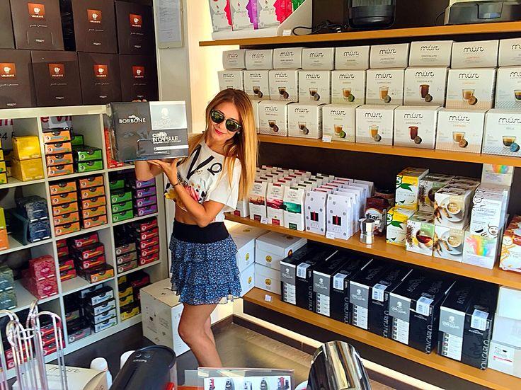 #capsule and #coffee #caffè  #Fano Viale Veneto 87