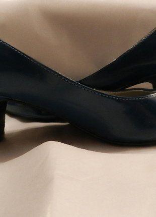 Kaufe meinen Artikel bei #Kleiderkreisel http://www.kleiderkreisel.de/damenschuhe/hohe-schuhe/142620384-donna-chrtstina-damenschuh-pumps-gr36-petrol-neu
