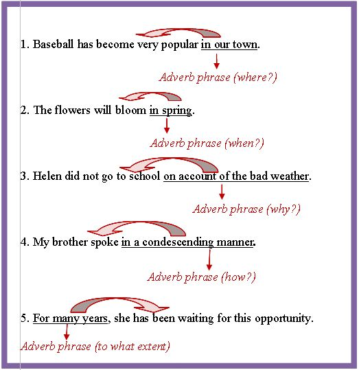 Adverbial Phrase Appositive Phrase Grammar and