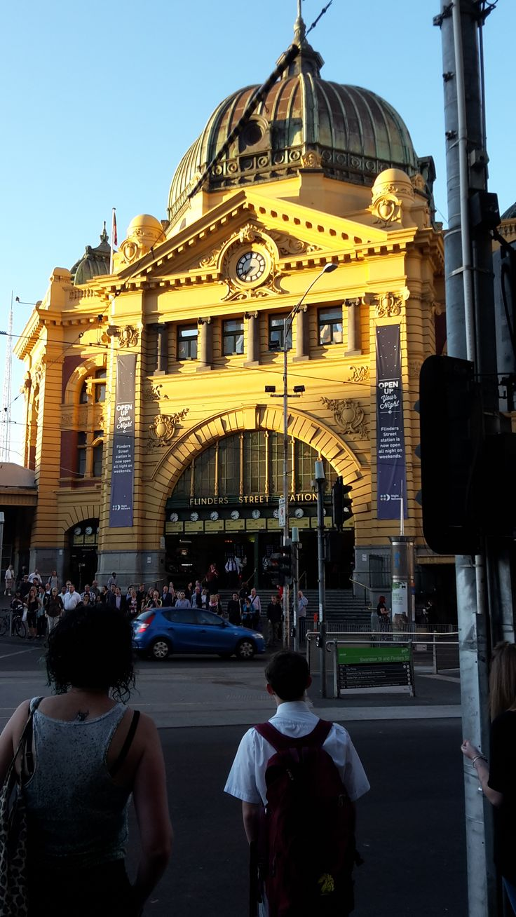 Flinders St entrance