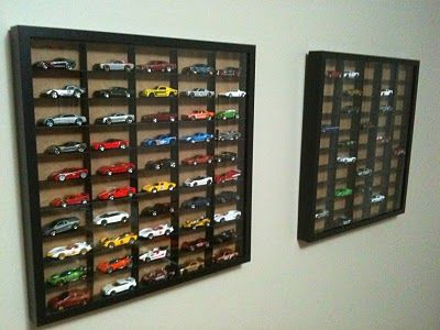 toy car storage via all for the boys