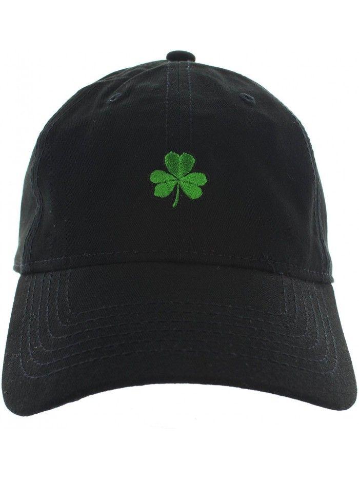 8a80a74142d St. Patrick s Day Clover Dad Hat Baseball Cap Shamrock Hat ...