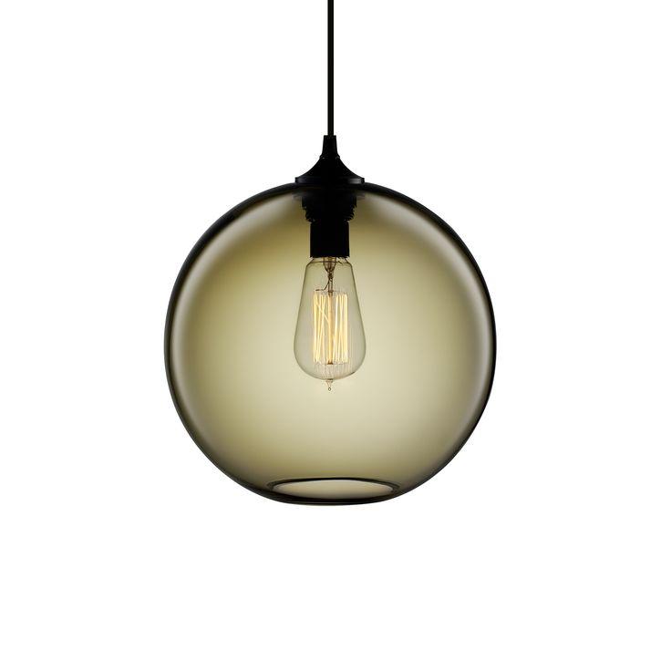 niche pod modern pendants kitchen island lighting. Niche Modern Solitaire Pendant Smoke Pod Pendants Kitchen Island Lighting