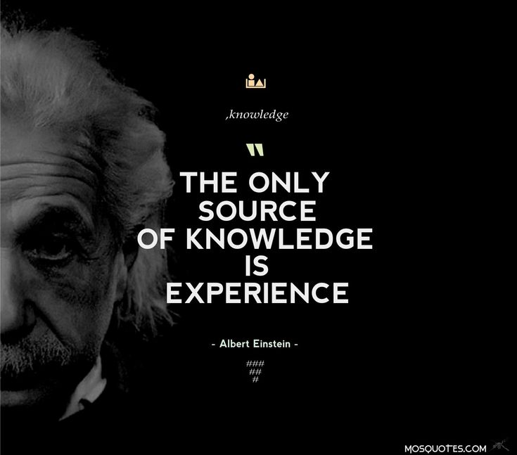 #quotes #experience