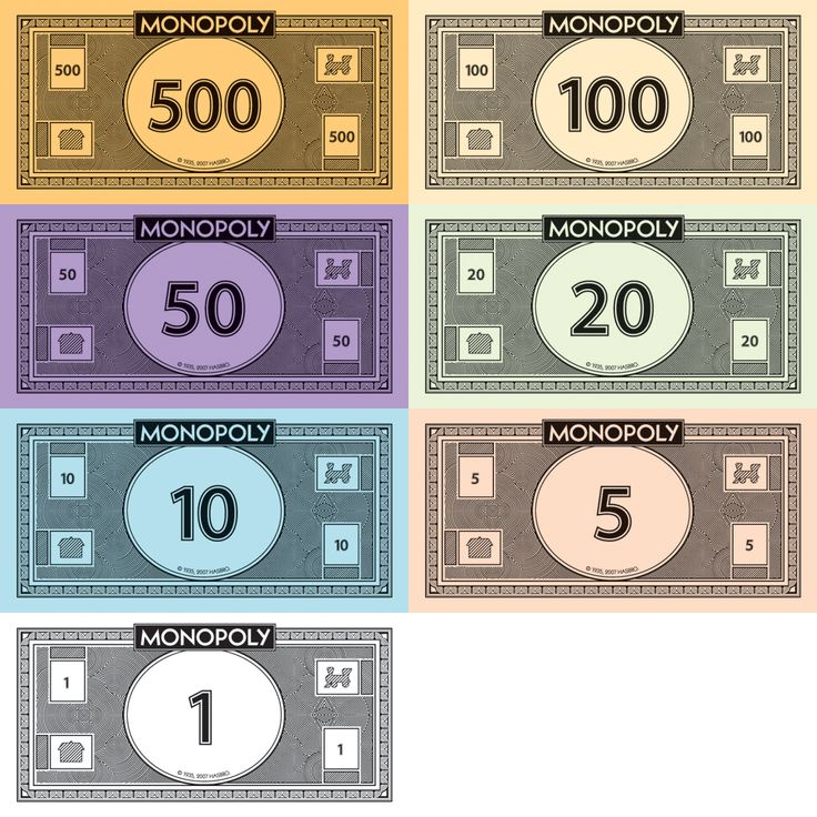 Pin by Julie Baker on Game On Monopoly money, Monopoly