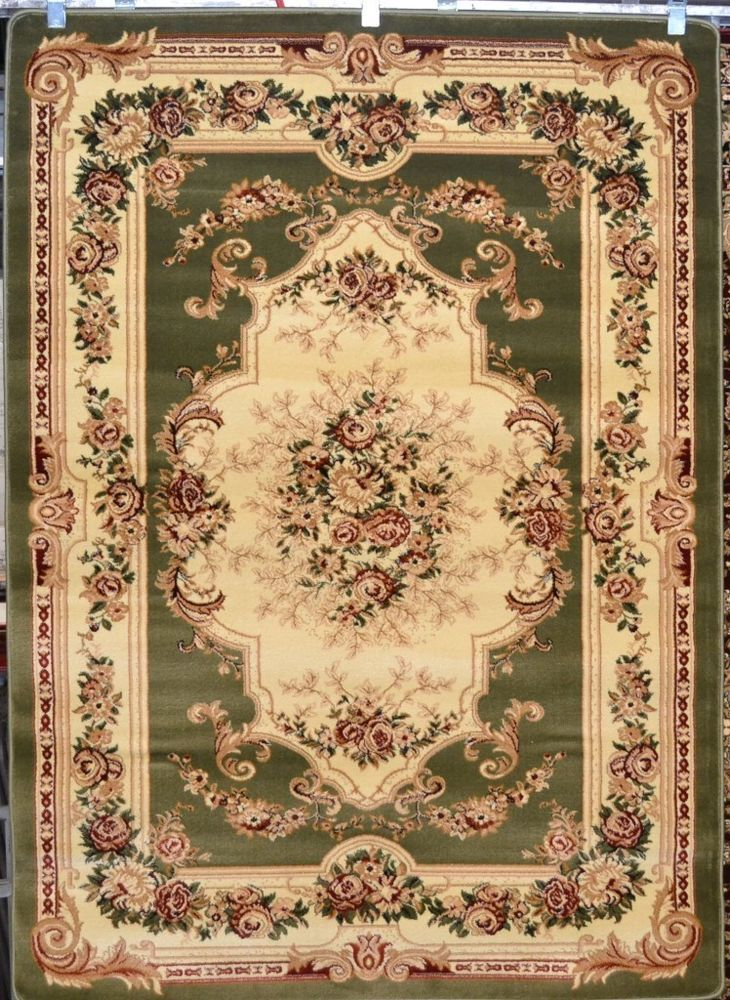 sage green burgundy 8x10 area rugs victorian carpet floral new