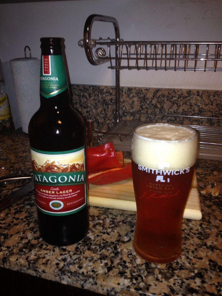 Cerveza Patagonia - vaso Smithwicks