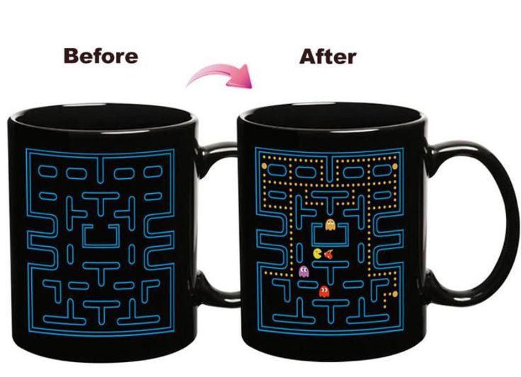 Pac-Man Heat Change Coffee Mug