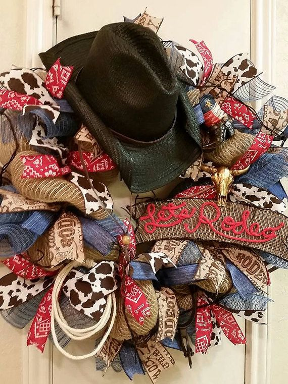 Western Rodeo Wreath