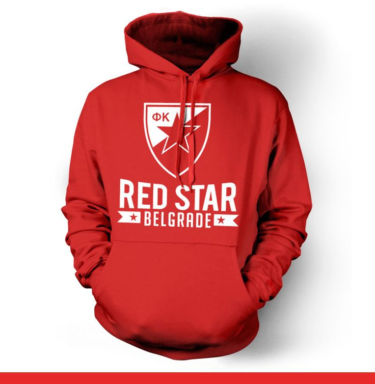 Red Star Belgrade Serbia Hoody Sweatshirt
