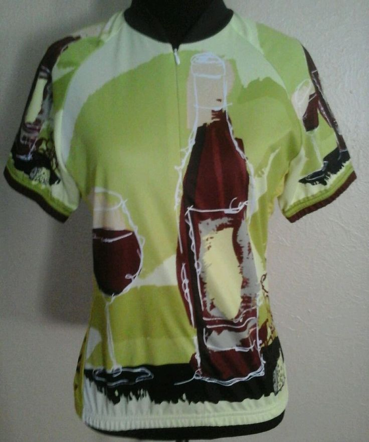 World Jerseys Women's Tempo Di Vino Cycling Jersey Wine Design Cycling Jersey ~  #WorldJerseys