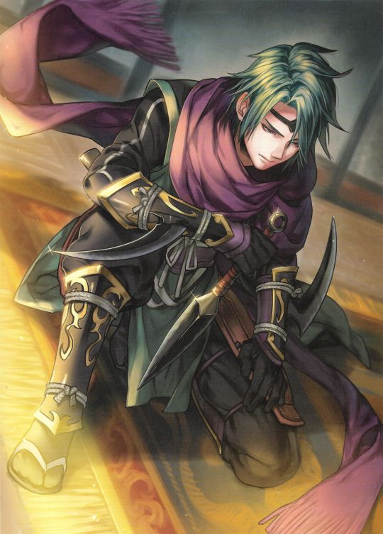 Fire Emblem: If/Fates - Suzukaze. He was one of my favorite characters. The ninja class was so cool!