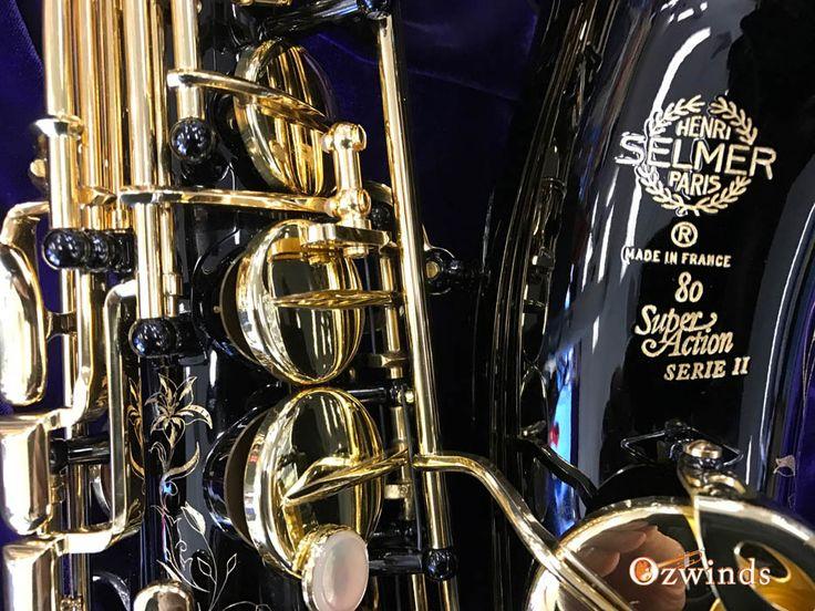 Selmer Series II Jubilee Alto Saxophone (Black Lacquer)