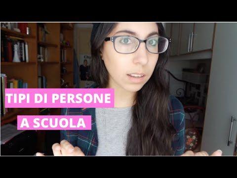TIPI DI PERSONE A SCUOLA. - YouTube #tipidipersone #youtube #newyoutuber #video #school #scuola
