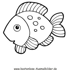 Fische Malvorlagen Ausschneiden | My blog
