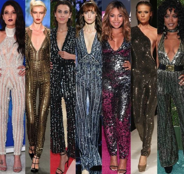 25  ide terbaik Sparkly jumpsuit di Pinterest