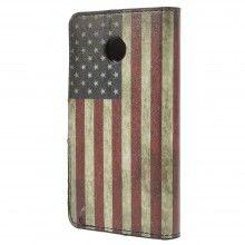Forro Book Huawei Ascend Y330 Design Bandera USA 1 $ 23.200,00