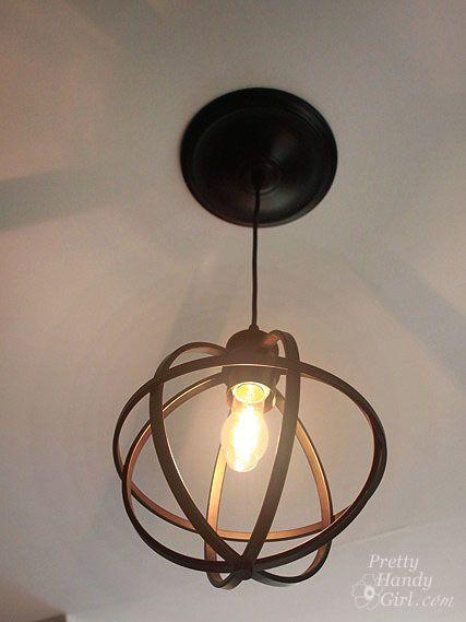 Can Light Pendant Light