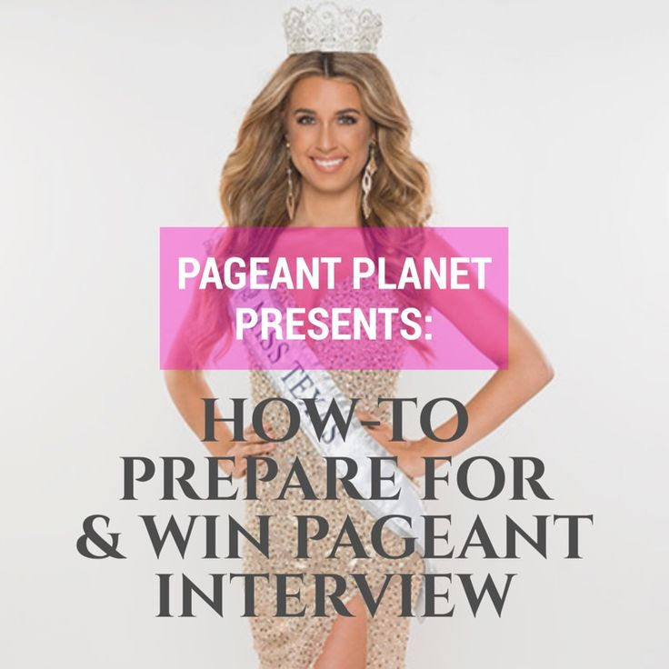 Check out The Pageant Planet Podcast! Here you will discover everything you need to win the crown of your dreams. Each episode we interview experts in all categories (PreTeen, Teen, General) and give you the insights to help you win. This episode discusses what you need to know to prepare & win your pageant interview.