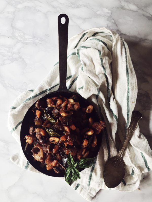 287 best italian food images on pinterest best italian recipes early fall recipes the authentic italian caponata recipe get the sicilian eggplant caponata and forumfinder Choice Image