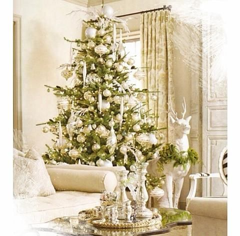 Sarah Richardson Design - Christmas design styles - Festive Style - gold and white