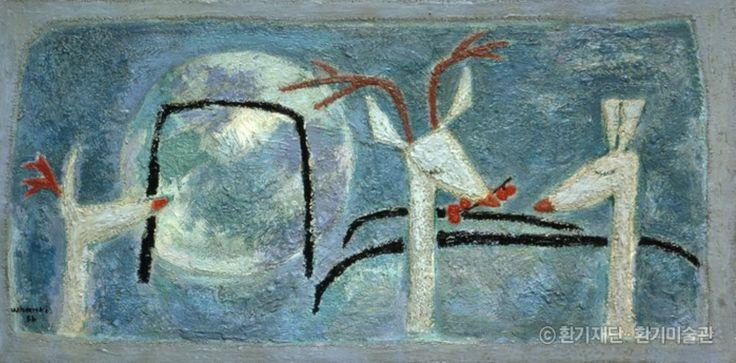 (Korea) by Whanki Kim (1913-1974).