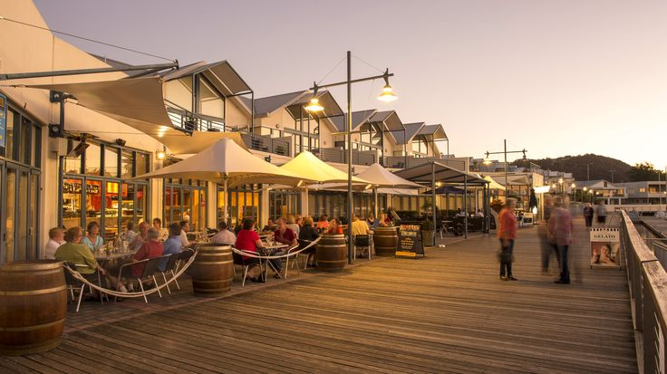 Launceston's Seaport precinct is home to a variety of shops, cafes, restaurants and bars.  Photo Rob Burnett.