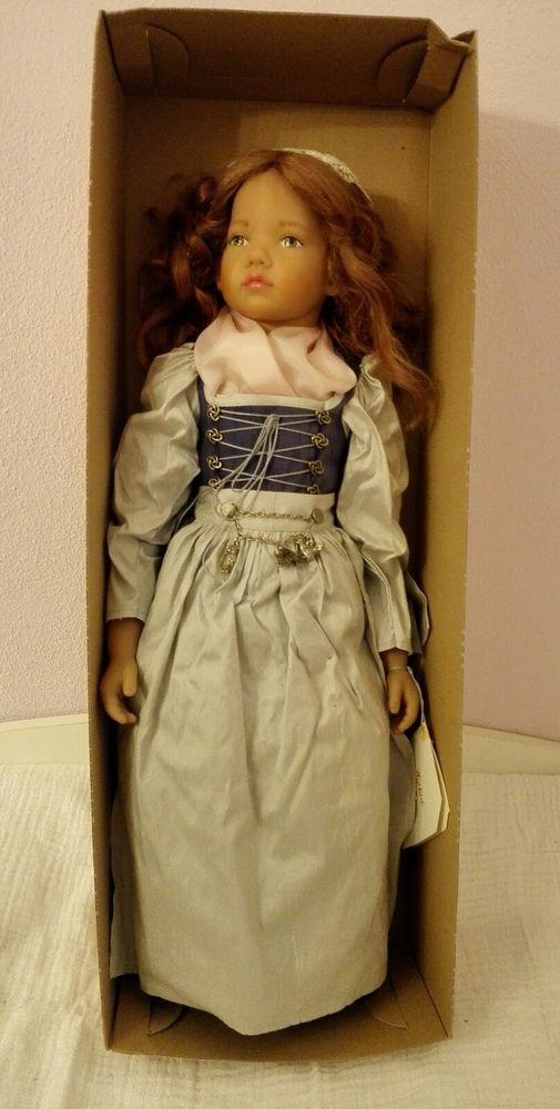 OVP Sigikid Künstler Puppe Helene Sedelmayer v. I Wippler limitierte auf 30 St!