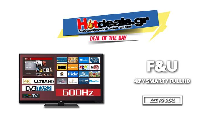 F&U FLS 48203 Τηλεόραση Smart 48 Ιντσών | Smart FULL HD LED TV | Media Markt | 299