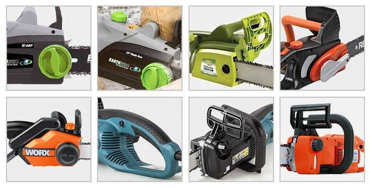 Electric chainsaws to drool over.