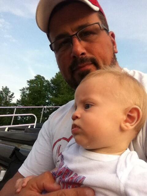 Steve Corino & his son Beckham