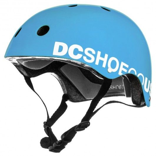 dc shoes askey helmet bright blue casque de protection. Black Bedroom Furniture Sets. Home Design Ideas